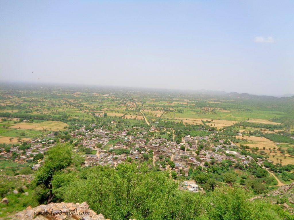 The view of Madhogarh Village