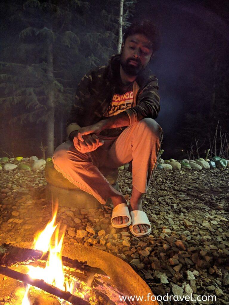 Bonfire in Kotgarh