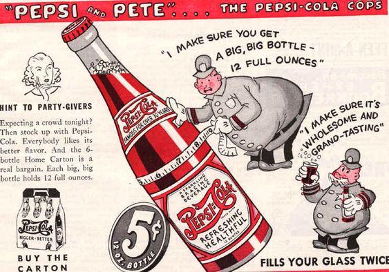 vintage pepsi bottle collection