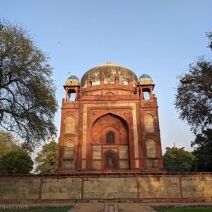 Barber's Tomb – The Not So Known Red Sandstone Monument
